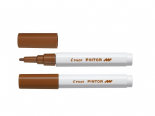 Brown Fine Pilot Pintor Paint Marker